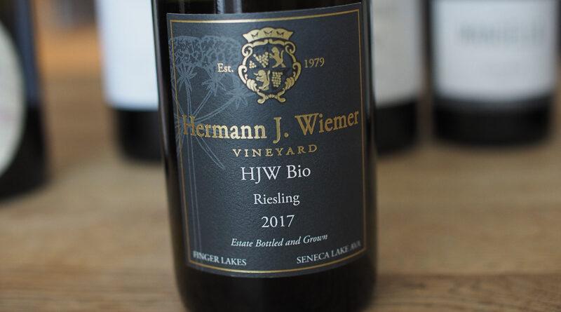 Highlights: Hermann J. Wiemer Vineyard HJW Bio Riesling 2017 Finger Lakes