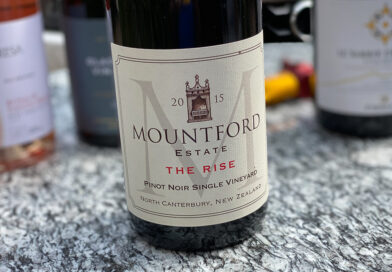 Highlights: Mountford Estate The Rise Pinot Noir 2015 North Canterbury, New Zealand