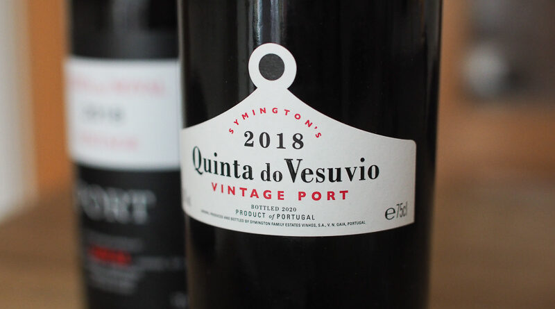 A quick look at some top 2018 Vintage Ports