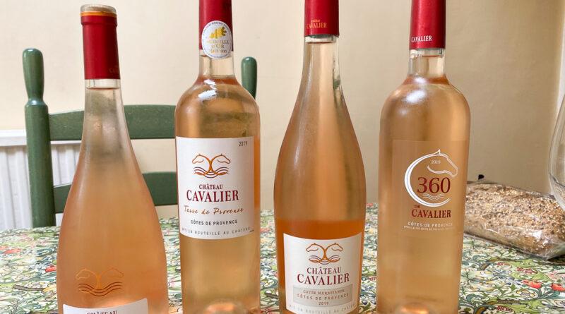 Château Cavalier: rosés from Provence
