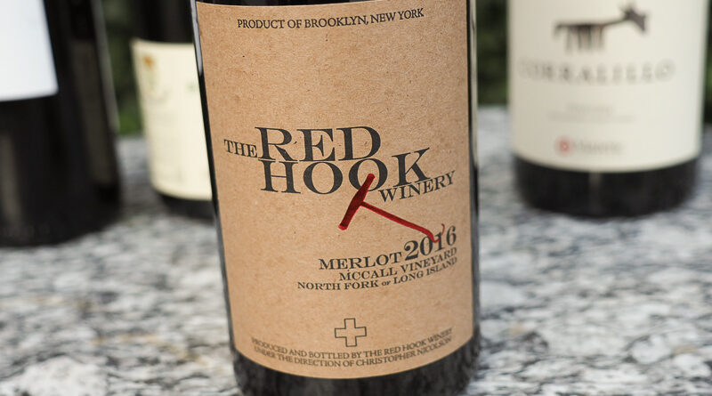Highlights: Red Hook Winery McCall Vineyard Merlot 2016 North Fork of Long Island, New York State