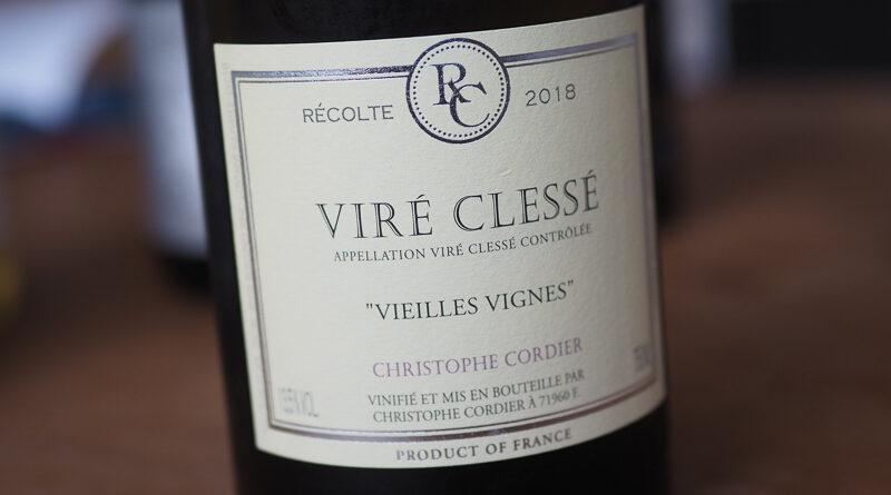 Highlights: Christophe Cordier Viré Clessé Vieilles Vignes 2018 Bourgogne, France