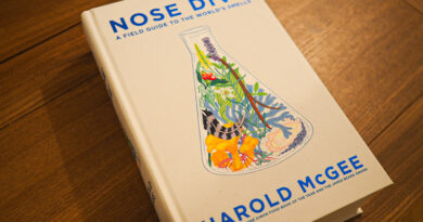 Nose dive, a field guide to the world's smells: an important new book from Harold McGee