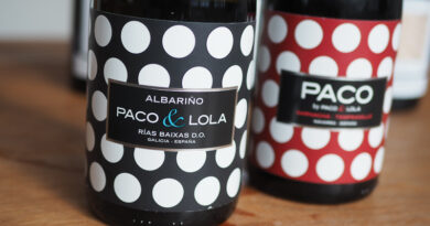 Two from Paco & Lola, an interesting modern Spanish cooperative