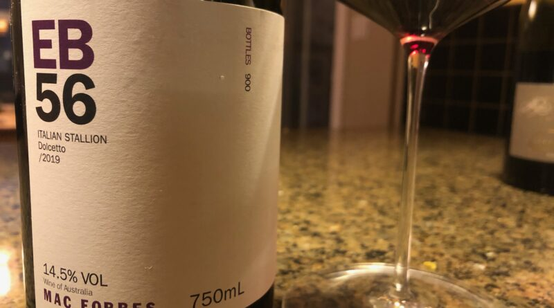 Highlights: Mac Forbes EB56 Italian Stallion Dolcetto 2019 Yarra, Australia