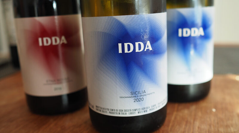 IDDA, Gaja's new Etna winery, where they will focus their considerable efforts on making white wines from Carricante